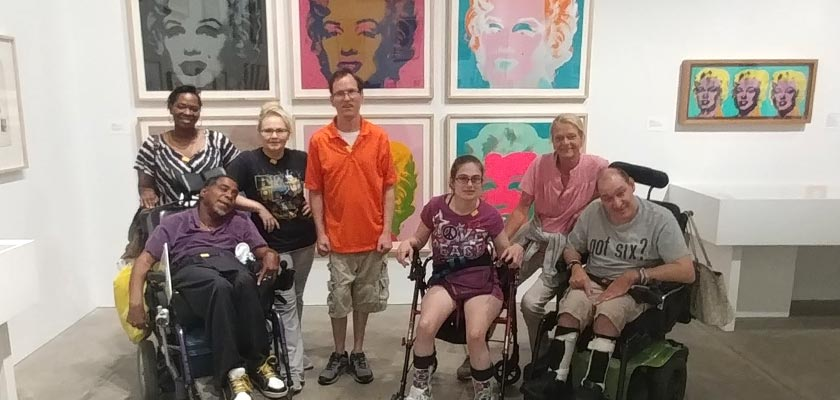 NHS/AVS Visits the Andy Warhol Art Museum