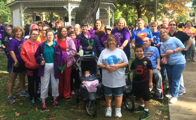 NHS/AVS Participates in the Alzheimer's Association Walk