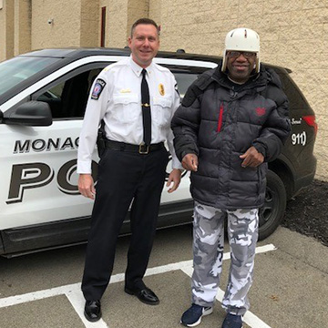 Visit to the Monaca Police Station
